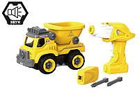Дитячий конструктор вантажівка Hulna на радіокеруванні 27 деталей, фото 1