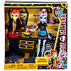 Monster High ляльки Еббі Бомінейбл і Хіт Бернс (Classroom Partners - Abbey Bominable and Heath Burns), фото 5