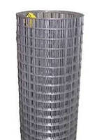25х12мм, Ø 0.8мм (1х30м) - Черный металл. Сетка сварная штукатурная рулонная