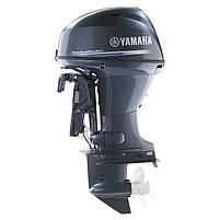 Лодочный мотор Yamaha F40FETL - подвесной мотор для яхт и рыбацких лодок, фото 2