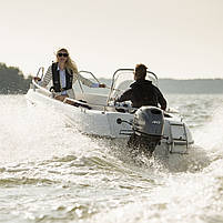 Лодочный мотор Yamaha F40FETL - подвесной мотор для яхт и рыбацких лодок, фото 5