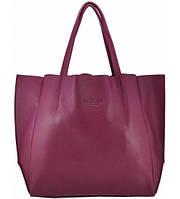 Женская кожаная сумка POOLPARTY SOHO FUCHSIA фуксия