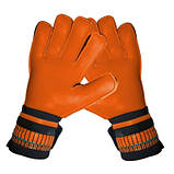 Воротарські рукавички SportVida помаранчеві Size 5 латекс SV-PA0006 SKL41-160702, фото 6