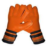 Вратарские перчатки SportVida оранжевые Size 5 латекс SV-PA0006 SKL41-160702, фото 6