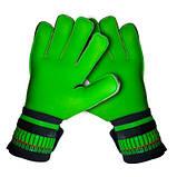 Вратарские перчатки SportVida зеленые Size 10 латекс SV-PA0019 SKL41-160812, фото 5