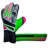 Вратарские перчатки SportVida зеленые Size 10 латекс SV-PA0019 SKL41-160812, фото 6