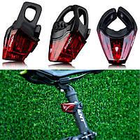Водонепроницаемый велосипедный задний светодиодный фонарь мигалка велофара LED EASYDO ED2102