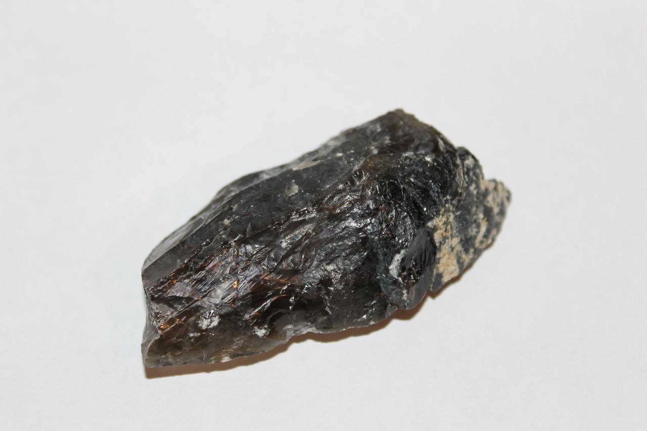 Раух-топаз камінь 80*39*25 мм. натуральний димчастий кварц