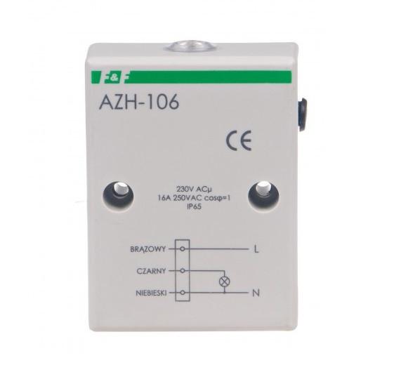 Реле сумеречное F&F AZH-106 (АСГ-16) 16 А IP65 герметичное, с вмонтированным светочувствительным датчиком