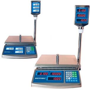 Весы торговые Днепровес ВТД-ЕЛС/СЛС (6 кг), фото 2