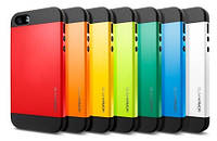 Чехол-бампер iPhone 5 SGP Slim Armor Orange