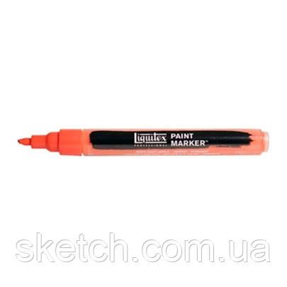 Маркер акриловий Liquitex Paint Marker 2мм #510 Cadmium Red Light Hue