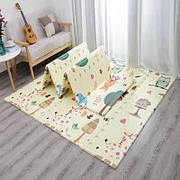 Дитячий диван килимок Folding baby mat 180* 150 см, фото 1