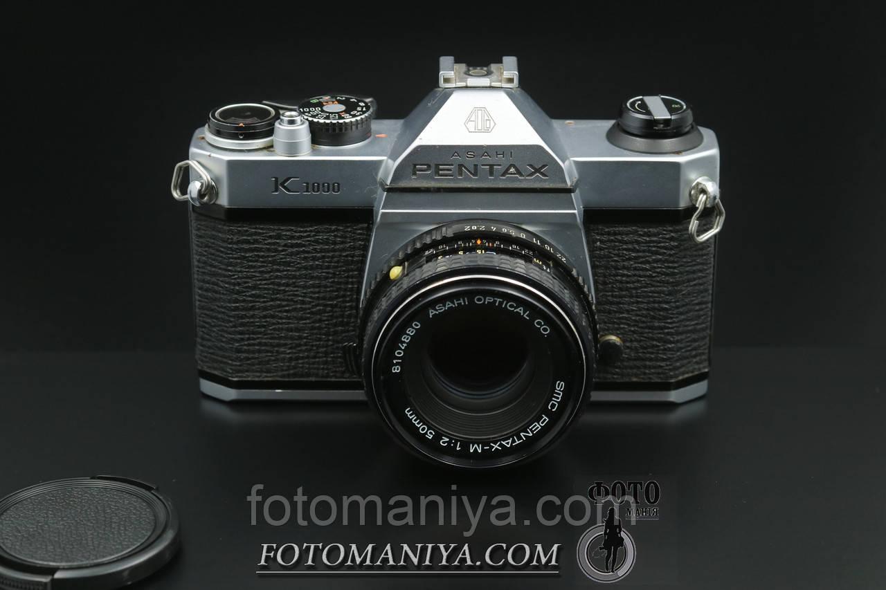 Pentax K1000 kit SMC Pentax-M 50mm f2.0