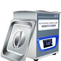 TUC-20 ультразвуковая ванна Jeken LED дисплей, 2л, 70Вт, металлический корпус, функция дегазации