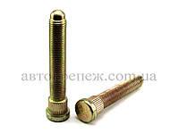Шпилька (пресс-болт) М12х1.25х63/80 цинк, шлиц 14.2