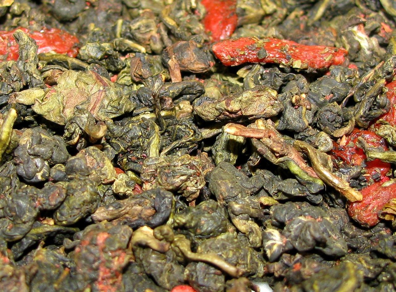 Годзилун. Китайский улун с ягодами Годжи - 50 грамм