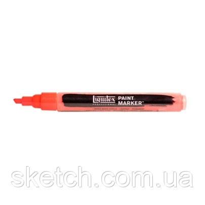 Маркер акриловий Liquitex Paint Marker 2мм #983 Fluorescent Red