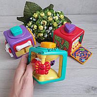 Музыкальная, развивающая игрушка Логика, 3 кубика, JL-8871