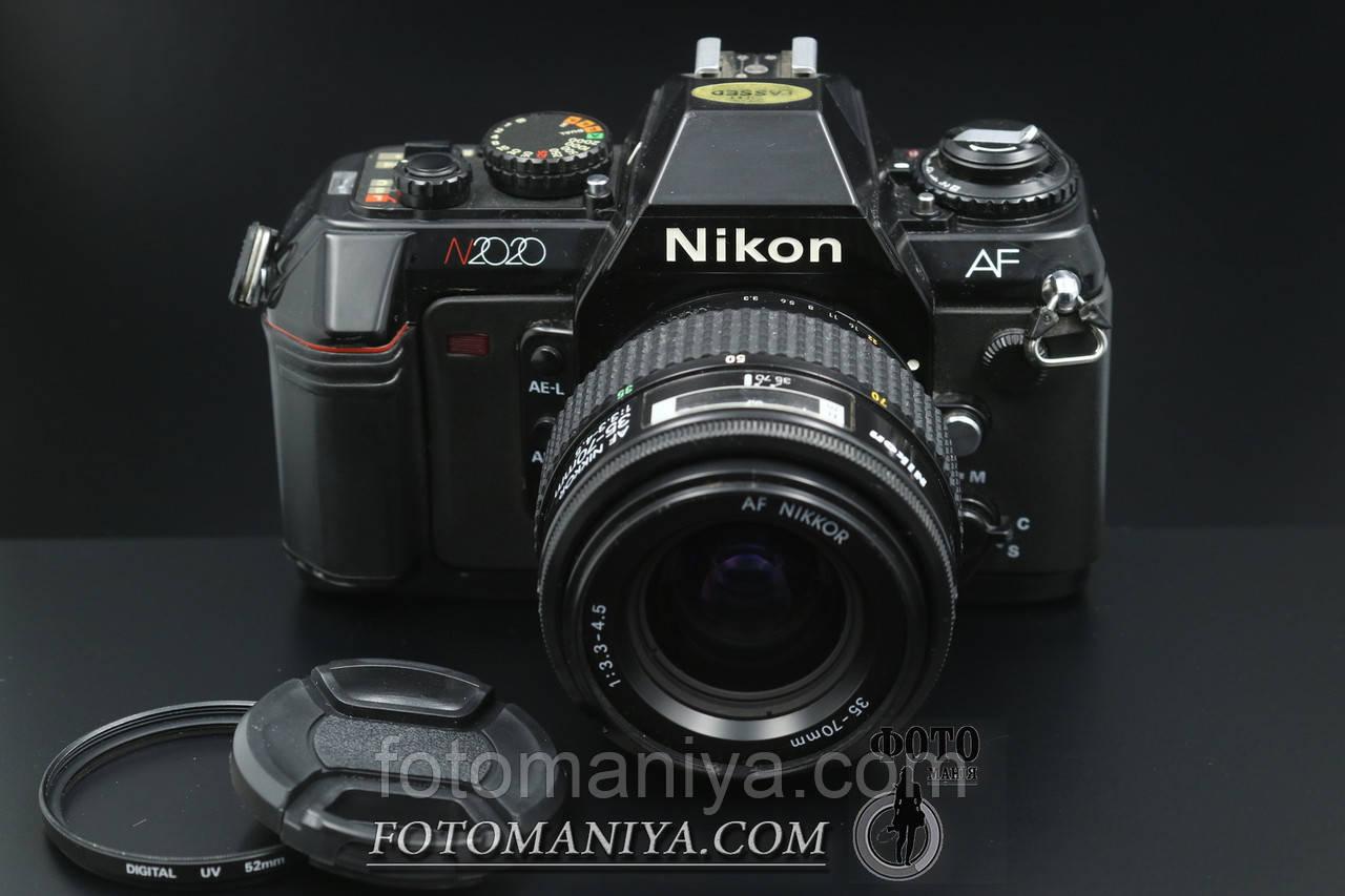 Nikon N2020 kit AF Nikkor AF 35-70mm f3.3-4.5