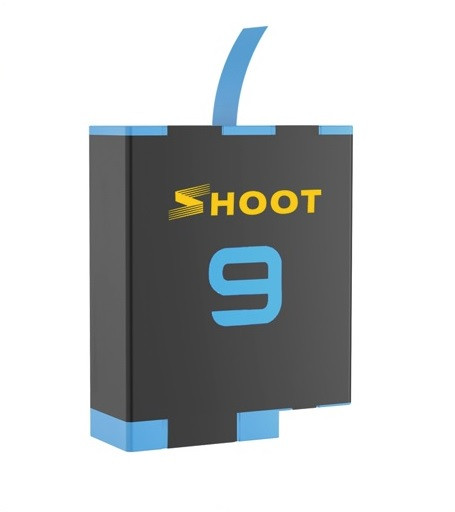 Аккумулятор SHOOT для GoPro HERO 9 Black