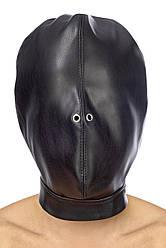 Капюшон для БДСМ Fetish Tentation Closed BDSM in hood leatherette