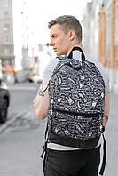 Рюкзак Intruder Bunny Logo Городской для ноутбука черный-белый портфель