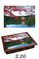 """Поднос на подушке """"Япония, дом на воде"""", фото 1"""