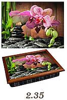 "Поднос на подушке ""СПА - орхидея"", фото 1"