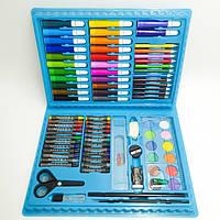 Художественный набор для детского творчества и рисования Painting Set 86 предметов детский в чемоданчике