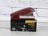 Степлер №10/4 60 мм 4034 Красный 27282Ф Scholz Чехия