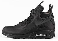 Мужские кроссовки Nike Air Max 90 Sneekerboot black, фото 1