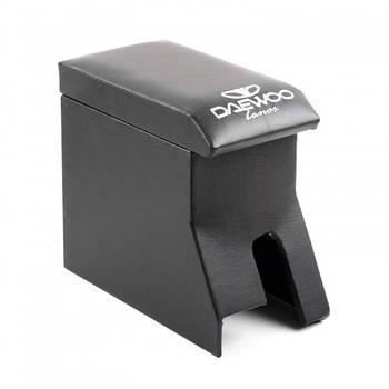 Підлокітник для Daewoo Lanos з логотипом Чорний