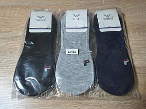 """Хлопковые носки для мужчин оптом """"Ромб"""" следы силикон, фото 1"""