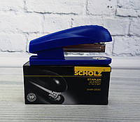 Степлер №24/6 Голубой до 30 л. 4025-06 27325Ф Scholz Чехия
