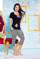 Костюм для дома Lady Lingerie футболка и бриджи 3816