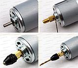 Кулачковий патрон №207sn на вал 2,0 мм затискач 0,3-4,0 мм для гравера 7x0.75 дрилі Dremel, фото 5
