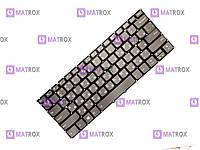 Оригинальная клавиатура для ноутбука Lenovo Yoga 920-13, 920-13IKB series, ru, gray, подсветка