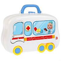 """Детский чемоданчик """"HAPPY DOCTOR"""" 13 предметов"""