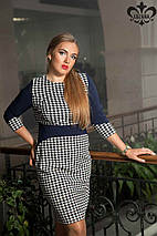 Платье гусиная лапка   Лоя lzn, фото 2
