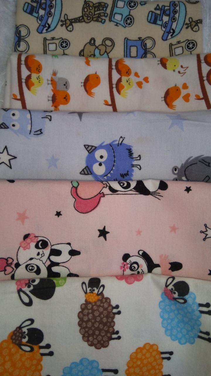 Пелюшки для немовлят фланелева (байка ) великі і маленькі.