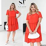 Женское платье летнее с коротким рукавом, фото 3