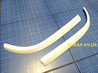 Реснички для автомобильных фар ВАЗ 2110  белые ANV Air. Тюнинговые накладки для фар VAZ