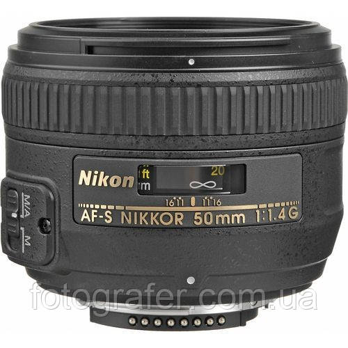 Об'єктив Nikon AF-S 50mm f/1.4 G / б/в / в магазині