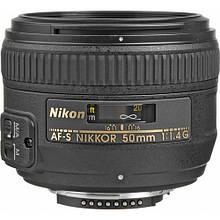 Объектив Nikon AF-S 50mm f/1.4G / б/у / в магазине