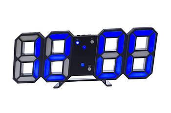 Годинники настільні Elite - 6609 сині (EL-6609 Blue)