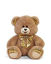 Мягкая игрушка мишка Макс 60 см цвет коричневый | Плюшевый медведь | Плюшевый мишка от производителя