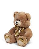 Мягкая игрушка мишка Макс 60 см цвет коричневый   Плюшевый медведь   Плюшевый мишка от производителя, фото 2