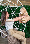 Мягкая игрушка мишка Макс 95 см цвет коричневый | Плюшевый медведь | Плюшевый мишка от производителя, фото 3