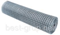 12х12мм, Ø 0.7мм (1х30м) Сетка сварная оцинкованная рулонная